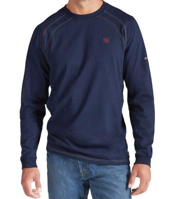 Ariat 10012256 Flame Resistant Long Sleeve Work Crew