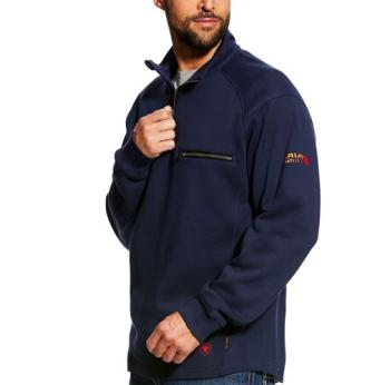 Ariat 10022333 FR Navy Qtr Zip