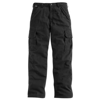 Carhartt FRB240BLK Flame Resistant Canvas Cargo Pant