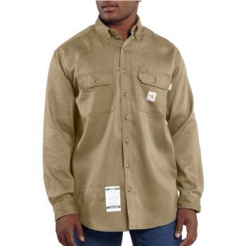 Carhartt FRS003KHI Flame Resistant Twill Shirt