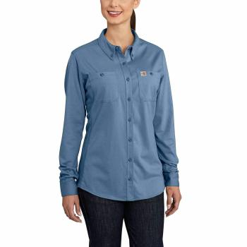 Carhartt Women's FR Long Sleeve Button Up Shirt