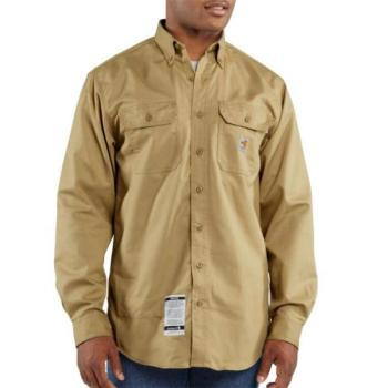 Carhartt FRS160KHI Flame Resistant Twill Shirt